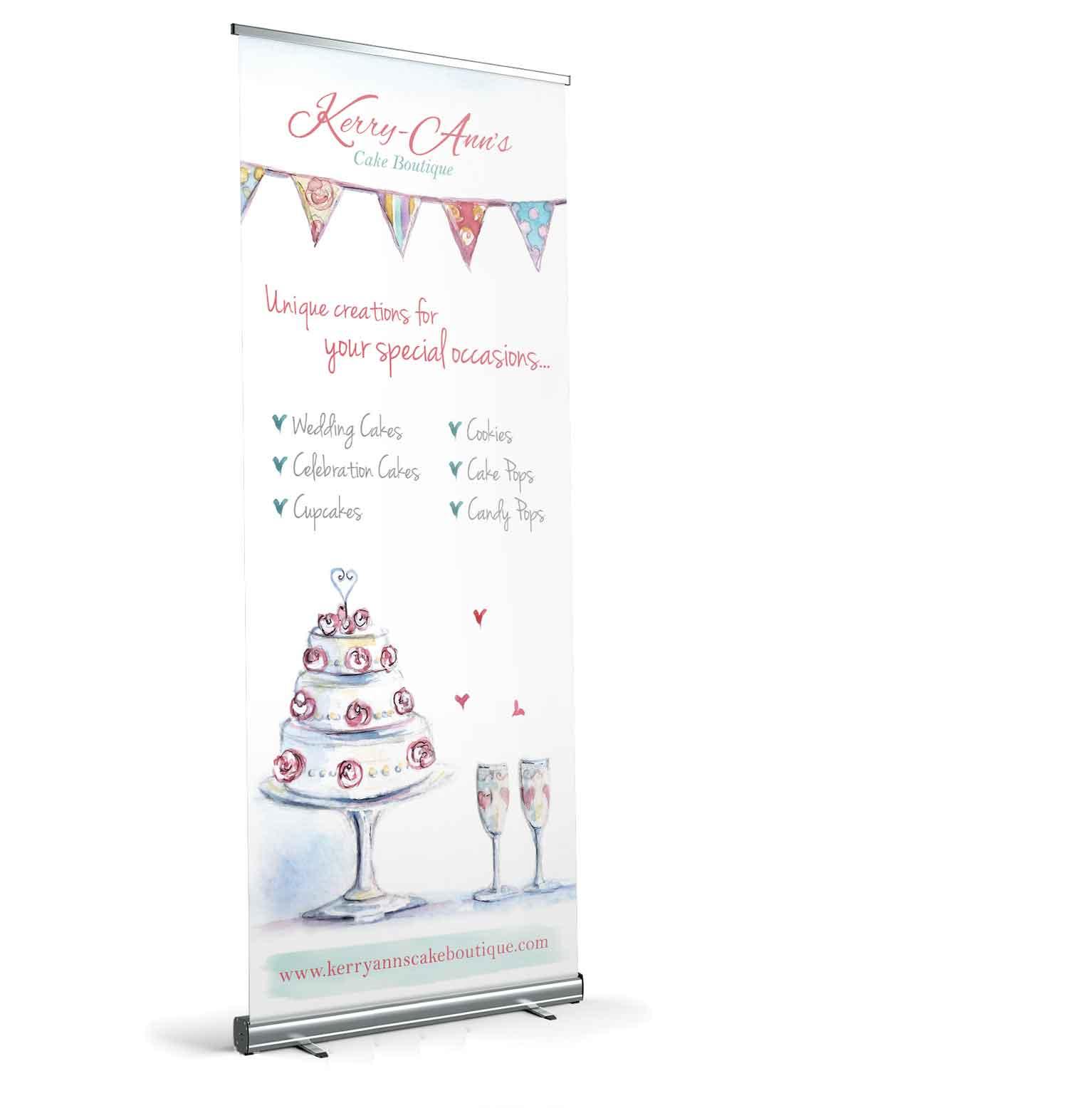 Kerry-Ann's Cake Boutique : Design Portfolio | Vanilla Gecko
